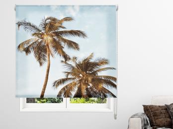 Estores impresos Paisajes Playa