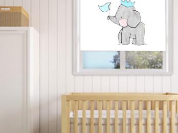 Estor enrollable bebé cute animals