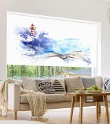 Estores impresión digital Faros en pintura