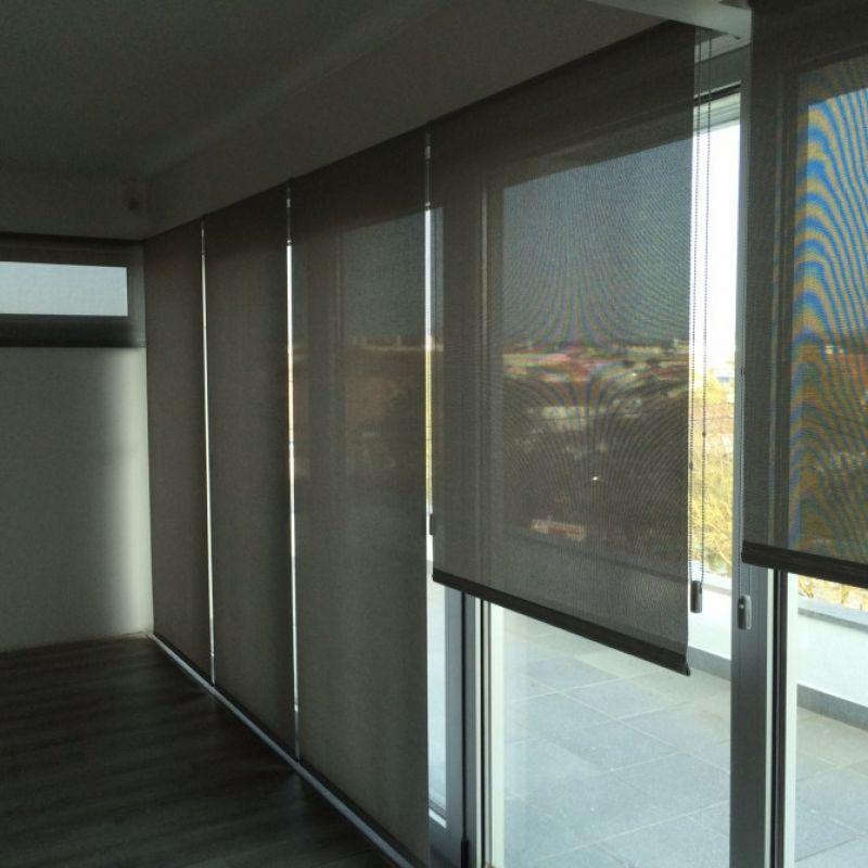 Enrollable screen 5500 apertura 3 fibra de vidrio - Estores exteriores enrollables ...