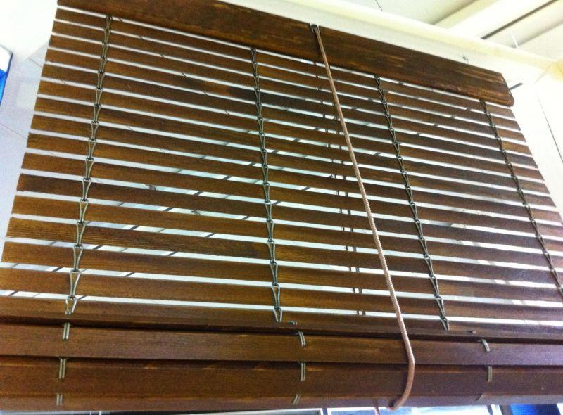Persianas alicantinas de madera - Estores de madera ...