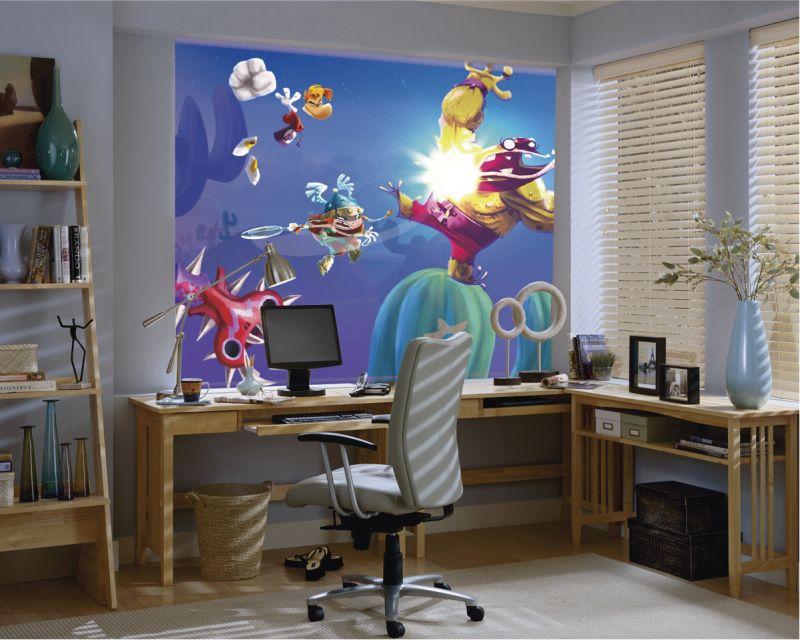 estor enrollable videojuegos rayman cortina impresi n digita