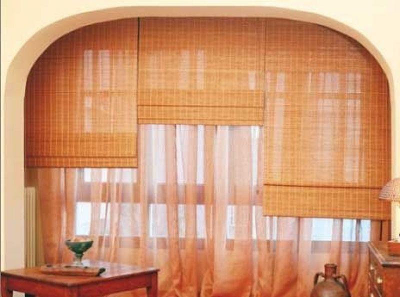 Persiana de esterilla de madera a medida - Persianas bambu exterior ...