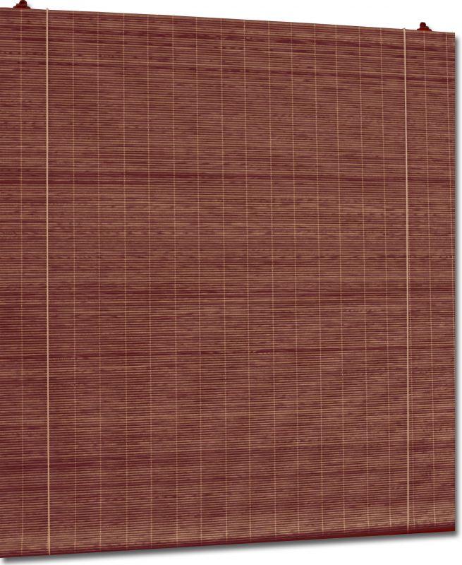 Persiana de esterilla de madera a medida - Persianas madera ...