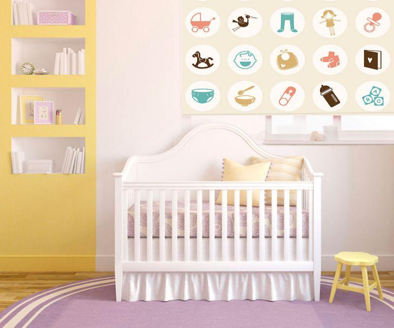 Estores bebe estores para habitaci n bebe sweet baby - Estores para bebes ...
