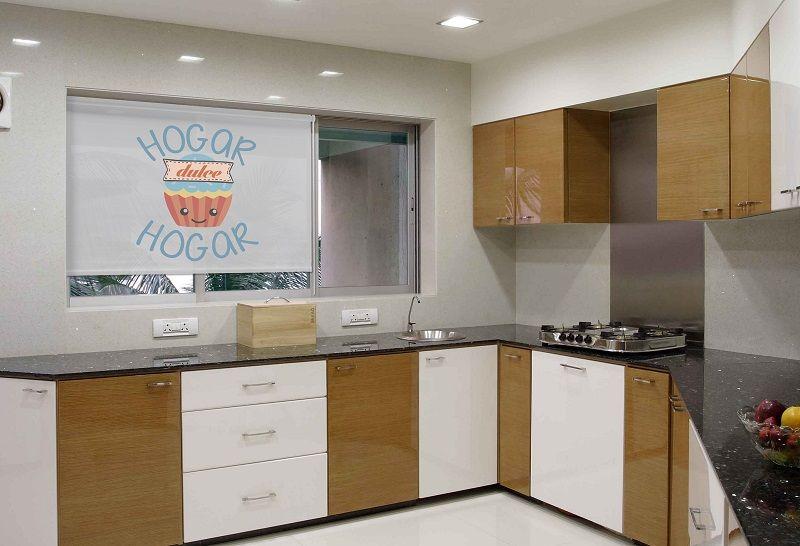 Estor enrollable cocina con frases - Estores enrollables cocina ...