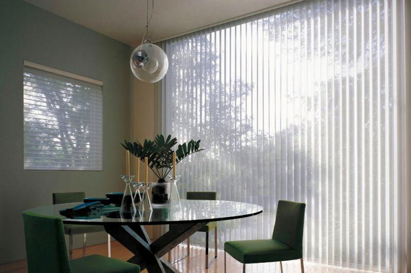 Cortina vertical screen lama de 127 y 89 mm for Cortinas para comedor baratas