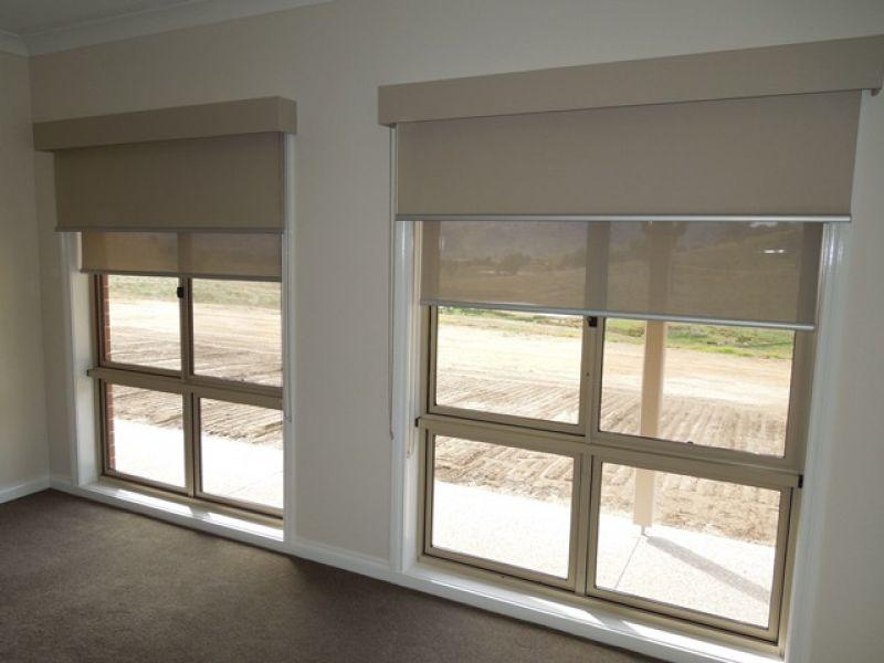 Estores dobles tejido opaco y ecoscreen fibra de vidrio - Screen estores enrollables ...