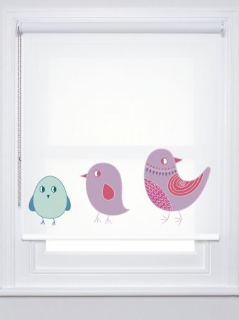 Estor infantil Pio | pájaro niño | estoresbaratos.com