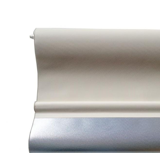 Estor enrollable opaco reflector plata - Estoresbaratos com ...