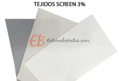 Cortina vertical Screen fibra de vidrio / Varias Transparencias