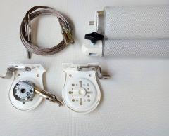 Toldo Vertical  Premium Opaco guiado a cable
